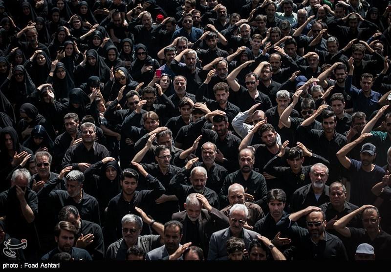شور و شعور حسینی در تبریز- 2| نمایش شکوه عزاداری پیروان اباعبدالله الحسین (ع) در«شاخسی» تبریزیها + فیلم