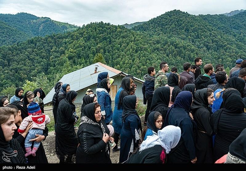 عاشورای حسینی در روستای شاه میلرزان