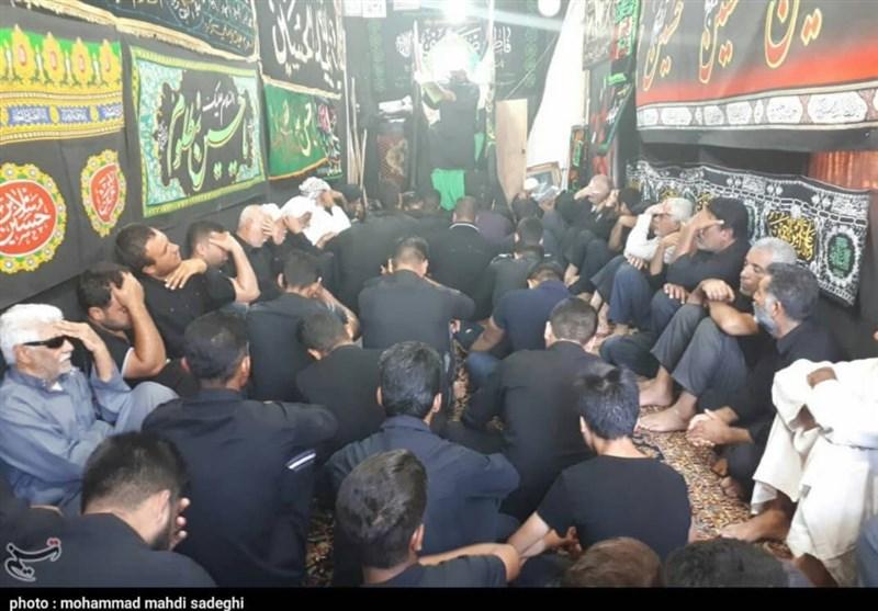 اقامه عزای روز عاشورا توسط مردم خوزستان + تصاویر