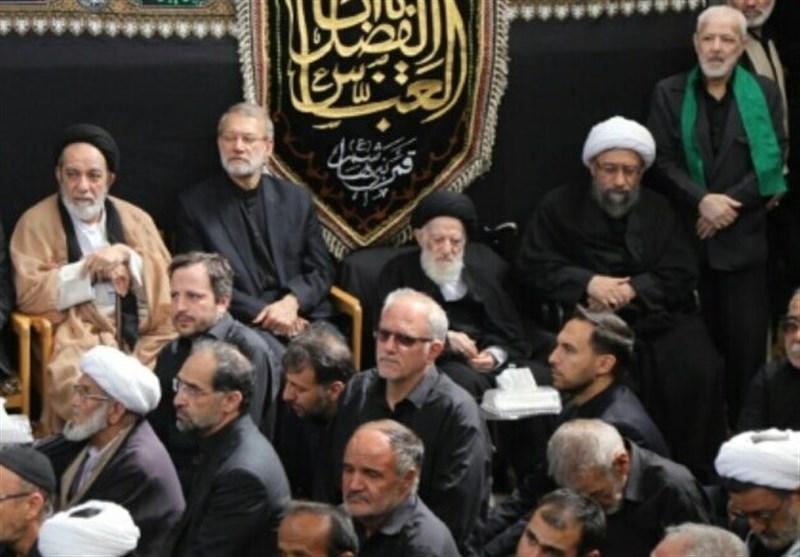 مراسم عزاداری عاشورای حسینی در دفتر آیتالله شبیری زنجانی برگزار شد