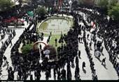 اجتماع باشکوه عاشورای حسینی دردورودبهروایت تصویر