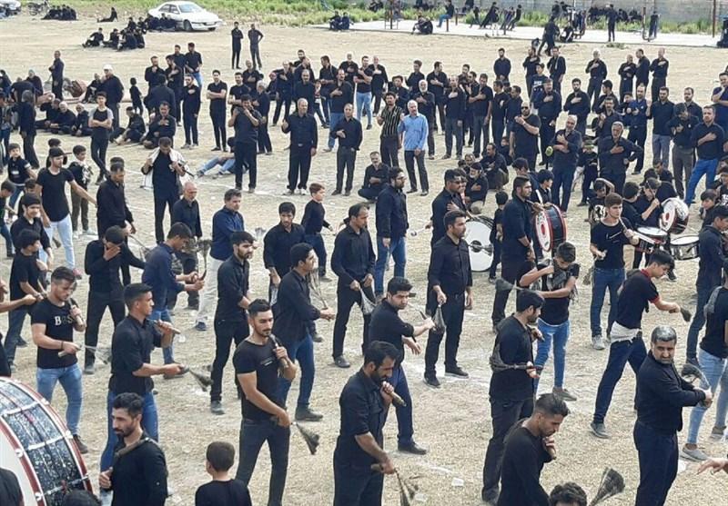 سوگواری عاشورای حسینی در گلستان به روایت تصویر