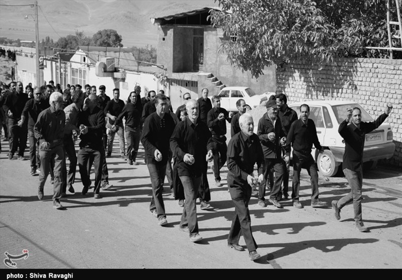 آئین کهن چغچغهزنی روستای انجدان به روایت تصویر