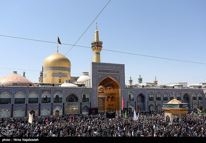ایران اسلامی در سوگ شمسالشموس / دلدادگی زائران در حرم غریبالغربا + فیلم