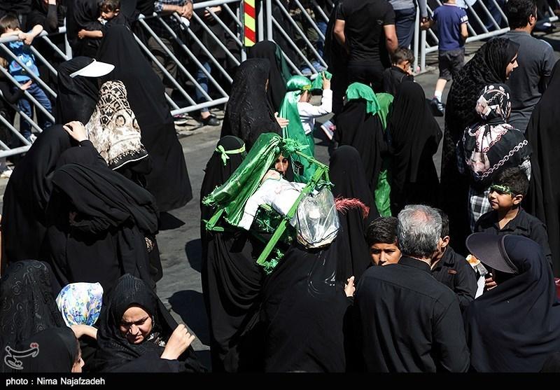 مراسم عزاداری عاشورای حسینی در مشهد