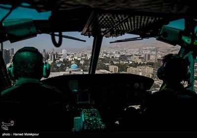 قلب سجاد برای انجام عمل پیوند به وسیله بالگرد در حال انتقال به بیمارستان شهید رجایی تهران است.