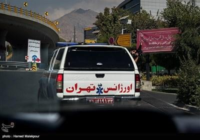 قلب سجاد برای انجام عمل پیوند به بیمارستان شهید رجایی تهران منتقل میشود.