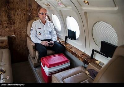 هواپیما راس ۱۰:۲۰ برای انتقال قلب سجاد به سمت تهران پرواز می کند.