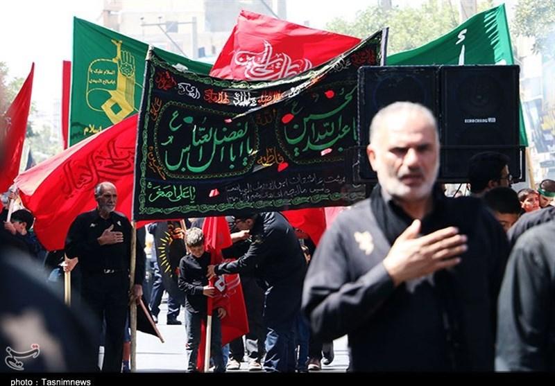 اجتماع با شکوه عاشورای حسینی در استان مرکزی بهروایت تصویر