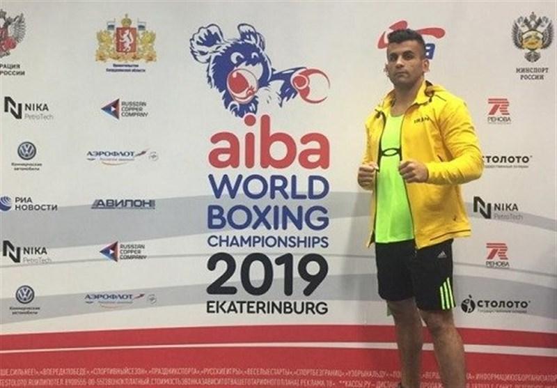 بوکس قهرمانی جهان|شوریان سومین پیروزی تیم ایران را کسب کرد