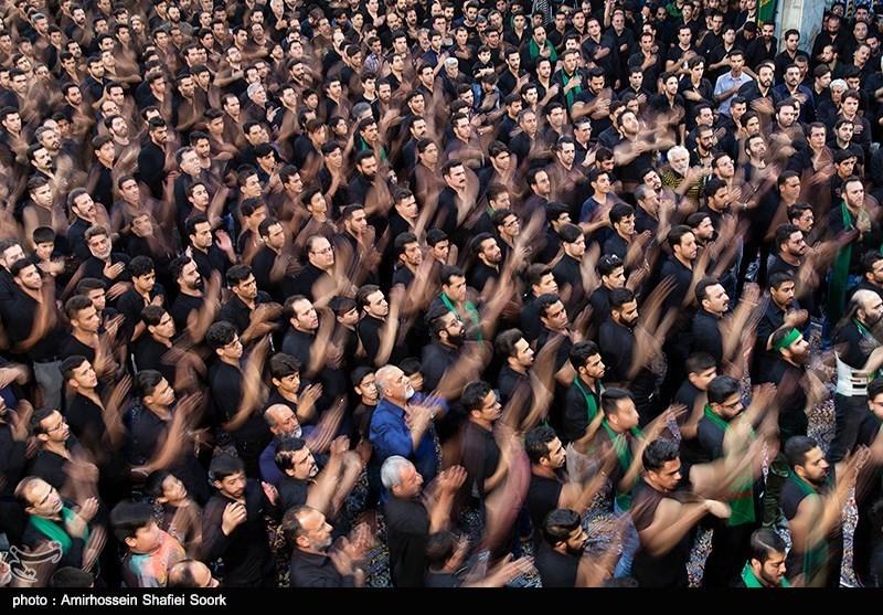 مراسم عزاداری عاشورای حسینی در مسجد حظیره یزد