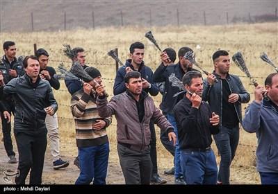 عزاداری عاشورای حسینی در روستای لروم شهرستان هوراند