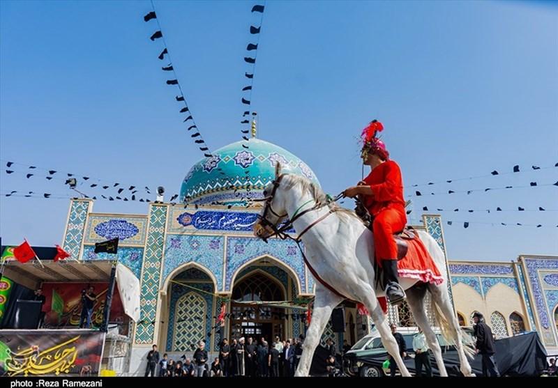 مراسم عزاداری در امامزاده سید معصوم(ع) قم به روایت تصویر