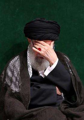 مراسم عزاداری شام غریبان حسینی در حسینیه امام خمینی(ره)