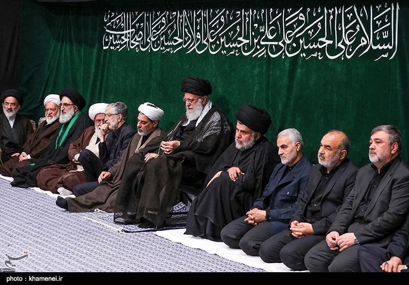 عزاداری شام غریبان حسینی در حسینیه امام خمینی(ره)
