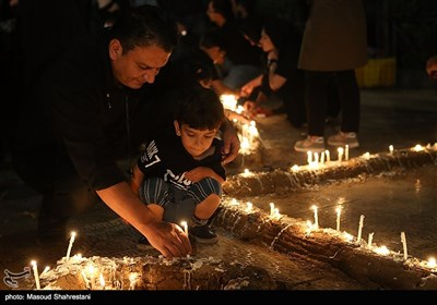 Ashura Evening Mourning Ceremony Observed in Streets of Tehran