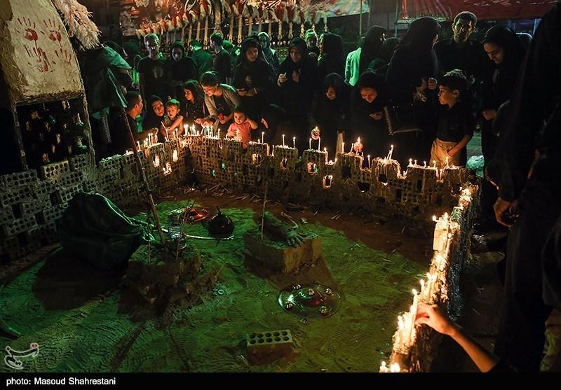 مراسم شام غریبان در تهران