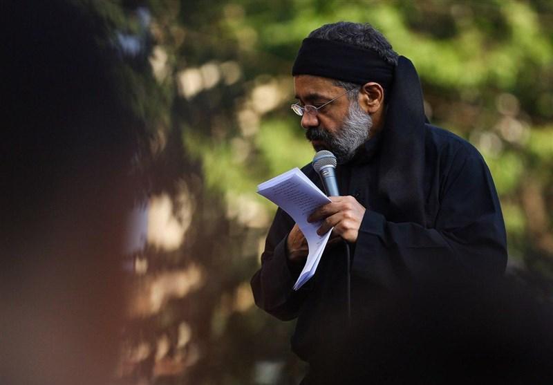 مداحی محمود کریمی در ظهر روز عاشورا 1398