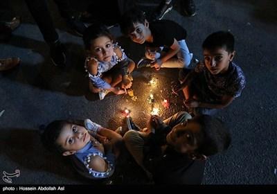 مراسم شام غریبان حسینی در خرمشهر