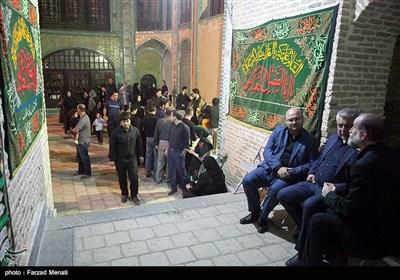 مراسم شام غریبان حسینی در تکیه معاونالملک کرمانشاه