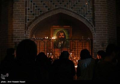 مراسم شام غریبان حسینی در قزوین