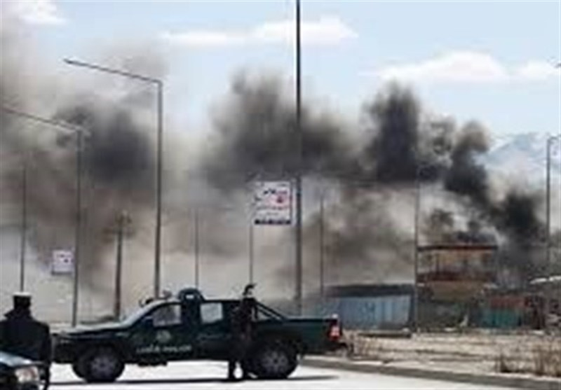 انفجار قرب السفارة الأمیرکیة فی کابل