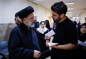 بازدید سرزده رئیس قوهقضائیه از مجتمع قضایی شهید مطهری