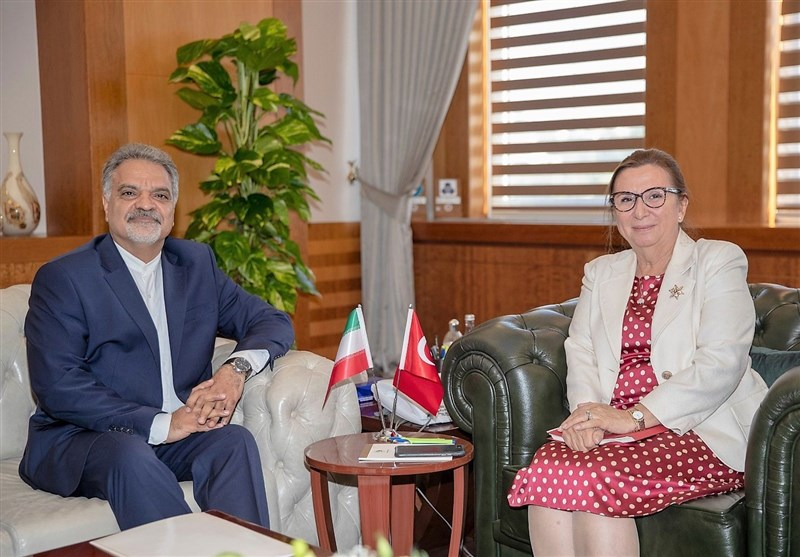 Iranian Envoy, Turkish Trade Minister Discuss Closer Ties