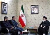 وزیر فرهنگ و ارشاد اسلامی با آیتالله علمالهدی دیدار کرد