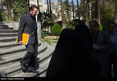 محمود واعظی رئیس دفتر رئیس جمهور درحاشیه جلسه هیئت دولت