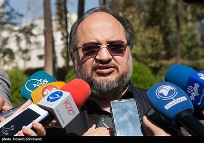 محمد شریعتمداری وزیر تعاون، کار و رفاه اجتماعی درحاشیه جلسه هیئت دولت
