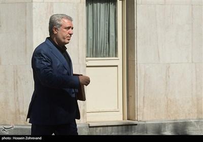 علیاصغر مونسان وزیر سازمان میراث فرهنگی در حاشیه جلسه هیئت دولت