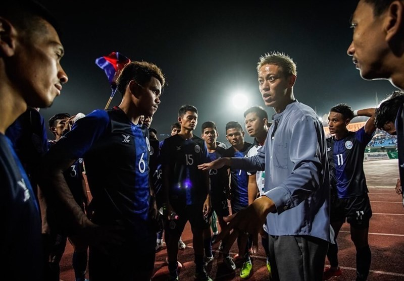 اظهارات هوندا پس از شکست مقابل بحرین/ ترفند هواداران کامبوجی برای بازی با ایران + عکس