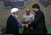 آیین تجلیل از دستاندرکاران اجلاسیه بینالمللی پیرغلامان حسینی یزد به روایت تصویر