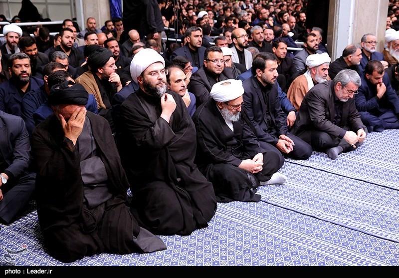 آخرین شب عزاداری محرم در حسینیه امام خمینی(ره)