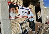 تبلور خدمت جهادگران استان اردبیل در مناطق سیلزده لرستان + تصاویر