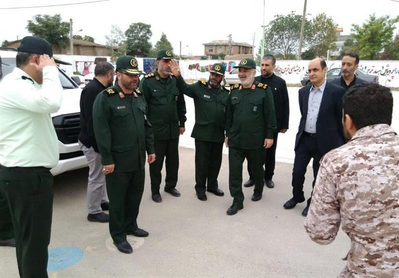 فرماندهکل سپاه از روند بازسازی مناطق سیلزده استان گلستان بازدید کرد