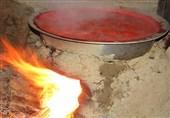 آئین محلی پخت رب گوجه در ارومیه +تصاویر