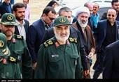 فرماندهکل سپاه وارد خوزستان شد/ بازدید سرلشکر سلامی از شهرها و روستاهای درگیر با تنش آبی