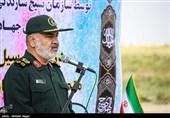 افتتاح پروژههای محرومیتزدایی سپاه با حضور سرلشکر سلامی + فیلم