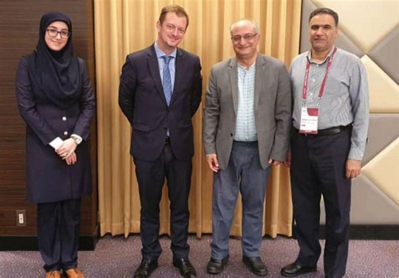 دیدار هادی رضایی با رئیس کمیته بینالمللی پارالمپیک/ پیشنهاد برگزاری جلسه هیئت رئیسه IPC در ایران