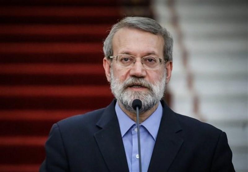 لاریجانی:باید برای حل بحران منطقه تلاش کرد