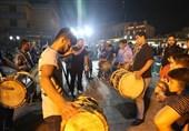 عزاداری شب دوازدهم محرم جوانان بوشهری+تصاویر