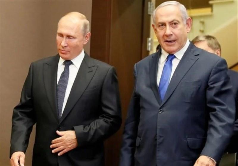 ورود پوتین به فلسطین اشغالی