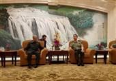سرلشکر باقری با فرمانده نظامی منطقه شانگهای دیدار کرد