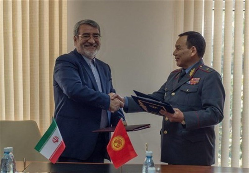 Iran, Kyrgyzstan Ink Security Cooperation Deal
