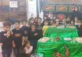 برگزاری عزاداری و سینهزنی کودکان عاشورایی بوشهر+تصاویر