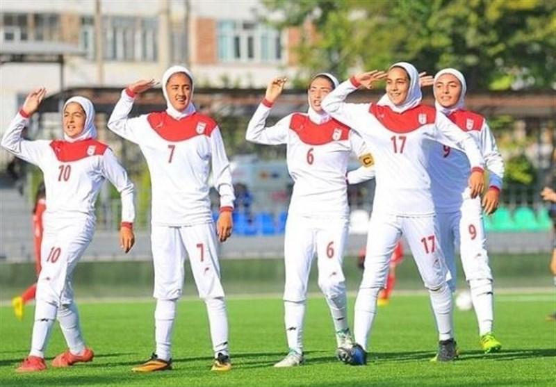 Iran Edges Kyrgyzstan at CAFA U-15 Girls Championship