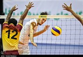 دیدار تیمهای والیبال ایران و سریلانکا - مسابقات قهرمانی آسیا