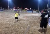 بوشهر| تیم مقاومت گلساپوش یزد برای سومین سال قهرمان لیگ برتر فوتبال ساحلی شد